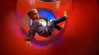 Indoor Playground Fun at Bill o Bulls Lekland (family fun for kids)