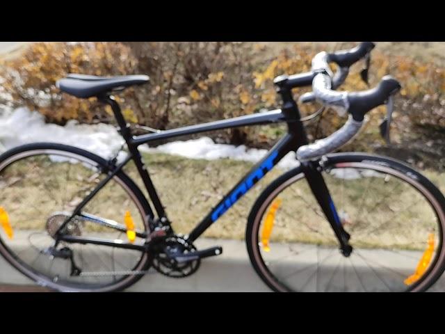 Видео Велосипед Giant Contend 3 Black