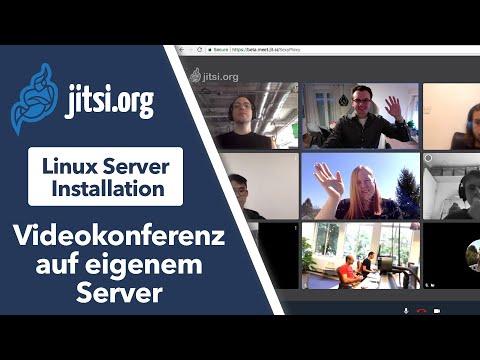 Kostenlose Videokonferenzsoftware auf dem eigenen Server - Jitsi Meet Installation auf Linux Server
