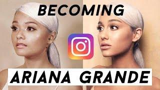 Singaporean Girl Recreates Ariana Grande's Instagram