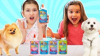 OUR DOGS PICK OUR SLIME INGREDIENTS!!! | JKrew