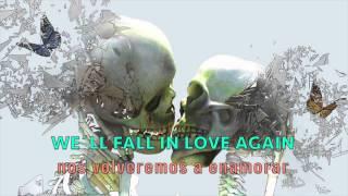 The Virgins - Love is colder than death [letra en español e inglés] [lyrics]