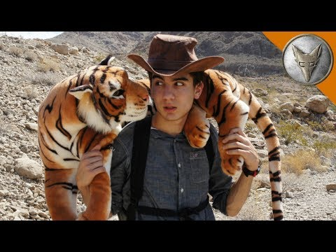 Brave Wilderness Coyote Peterson Gets Bitten By The Jack Black Tiger (Parody)
