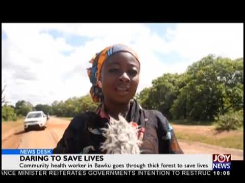 Daring To Save Lives - News Desk on JoyNews (7-11-18)