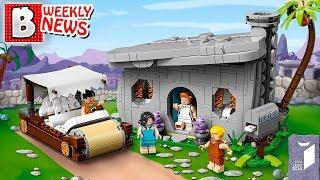 LEGO IDEAS The Flintstones Reveal! New Theme Hidden Side! 2019 Jurassic World Sets! | LEGO NEWS