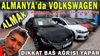 ALMANYA'da 0km VOLKSWAGEN ALMAK. 999 pesin 299 taksitle Golf GTI (0 km)