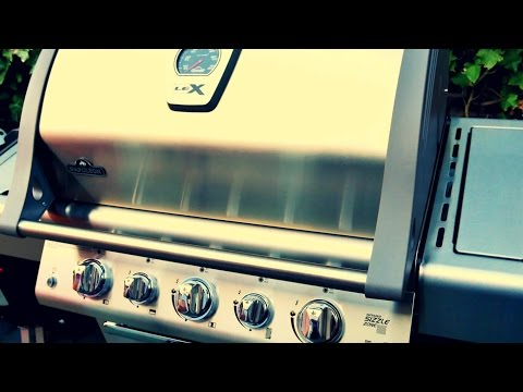 GAS GRILL REVIEW – NAPOLEON LEX 485