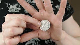 Vanishing COIN TRICK - TUTORIAL   TheRussianGenius