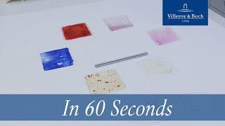 In 60 seconds: Cleaning Quaryl® | Villeroy & Boch