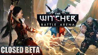 The Witcher Battle Arena MOBA Android Gameplay (CLOSED BETA)