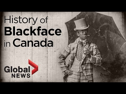 A look at Canada's long history of blackface