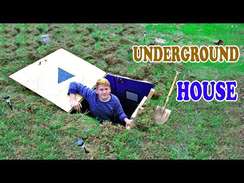 Underground House - DIY | How To Build A House Under The Ground
