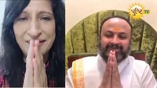 Instagram Samvaad Pujya jj shri & Kaajal oza vaidya