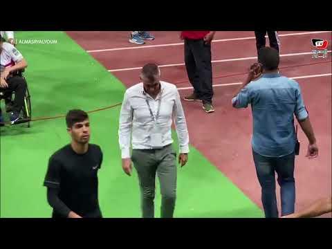حزن كارتيرون عقب التعادل مع سموحة.. وكاسنجو يغادر الملعب مصاباً