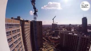 Жилой комплекс Панорама Новосибирск. Лето 2016. Вид от первого лица. Allnewhomes.ru