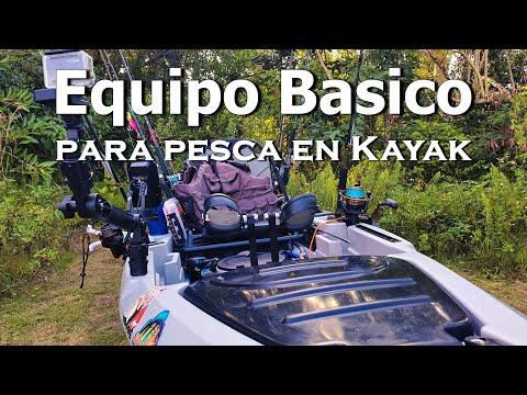 Equipo para pesca en kayak | Kayak fishing essentials