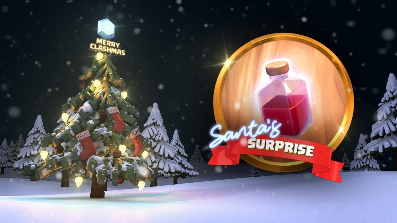 Clash of Clans: Santa's Surprise Spell (Clashmas Update 2017)