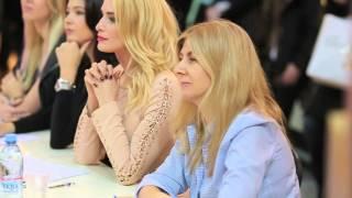 Первый открытый кастинг Мисс Россия в Москве/The first open casting of Miss Russia in Moscow