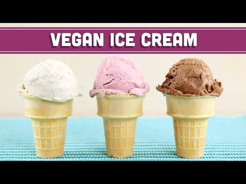Video Homemade Vegan Ice Cream (No Machine)! 3-Ingredients! Mind Over Munch