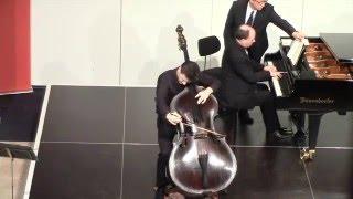 G.Bottesini: Fantasia la Sonnambula, Dominik Wagner double bass