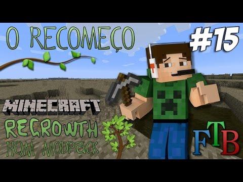Minecraft - O Recomeço #15 - Sistema de Irrigação AgriCraft