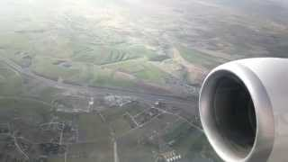 preview picture of video 'Ankara Esenboga Airport Landing- [ESB]'