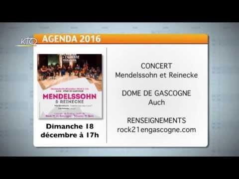Agenda du 9 décembre 2016