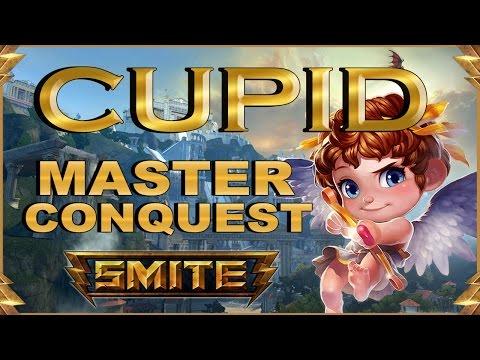 SMITE! Cupid, Yo esperaba al late pero...! Master Conquest S4 #13