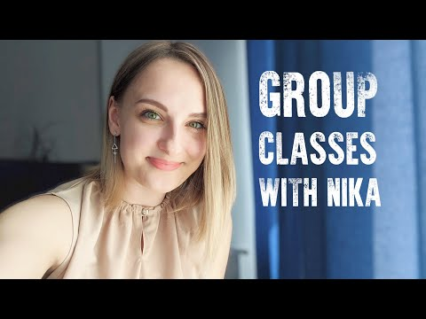 Russian group classes with Nika Minchenko | Hurry up to join, it will be fun and useful!
