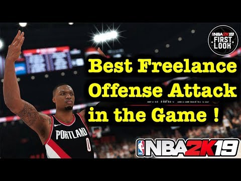 NBA 2K19 Tutorial Freelance Offense Guide - How to Run Freelance 2K19 ! Best Offense Tips #3