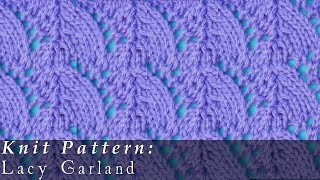 Lacy Garland { Knit }
