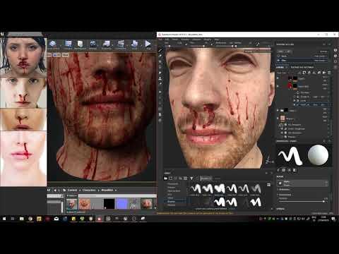 JV Fresh Blood - Smart Material Demo