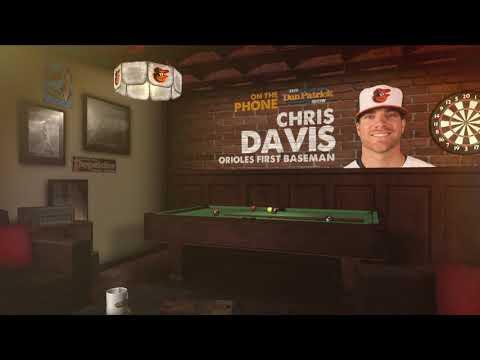 Orioles First Baseman Chris Davis Talks Hitless Streak & More w/Dan Patrick   Full Interview