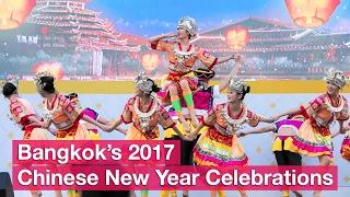 Bangkok's 2017 Chinese New Year Celebrations