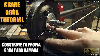 preview picture of video 'Grua casera para camara  - Camera crane - test camera crane'