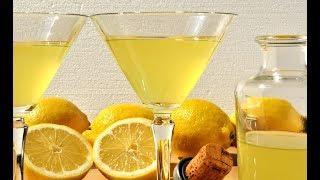 Рецепт Лимончелло, итальянский лимонный ликер./ Limoncello