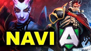 NAVI vs ALLIANCE - EL CLASICO - VALENTINE MADNESS WePlay! DOTA 2