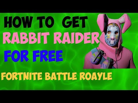 How To Get Rabbit Raider For Free And Other Skins Fortnite Battle