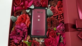 LG V30 Raspberry Rose Unboxing & Thoughts On LG's Recent Mobile News