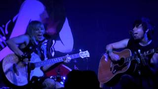 "The Dollyrots ""Hyperactive"" LIVE acoustic June 28, 2013 (2/7) HD"