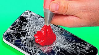 29 SIMPLY AMAZING HACKS THAT WILL SAVE YOUR LIFE    Phone Trick and Recycling Ideas
