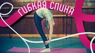 Гибкая спина. Как развить гибкость спины. Упражнения для гибкой спины. Как сделать спину гибкой.