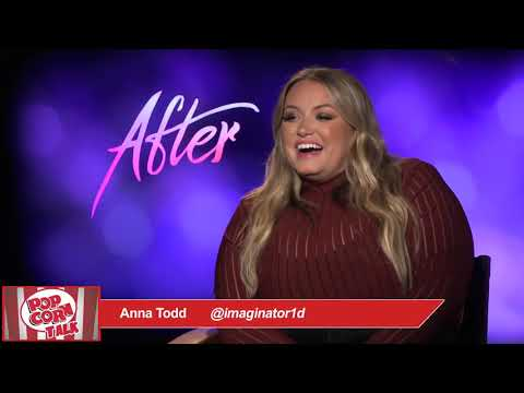 Author Anna Todd talks about the phenomenon of AFTER