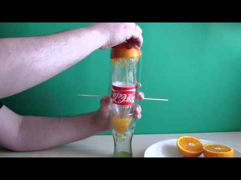 DIY Juicer from plastic bottles