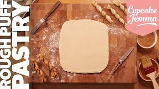 Rough Puff Pastry - Pastry the Easy Way! | Cupcake Jemma Channel by Cupcake Jemma