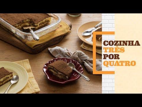 Como fazer tiramisu | Cozinha 3 por 4 com Rita Lobo | Panelinha