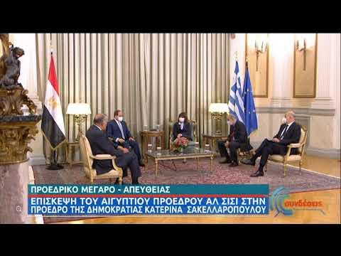 Προεδρικό Μέγαρο | Επίσκεψη του Προέδρου της Αιγύπτου στην ΠτΔ | 11/11/2020 | ΕΡΤ