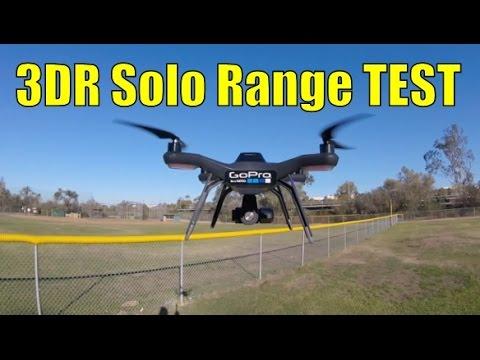 3DR Solo Range Test