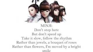 2ne1 - Let's go party [English Lyrics]