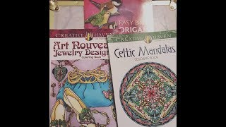 Dover Publications Coloring Books Review